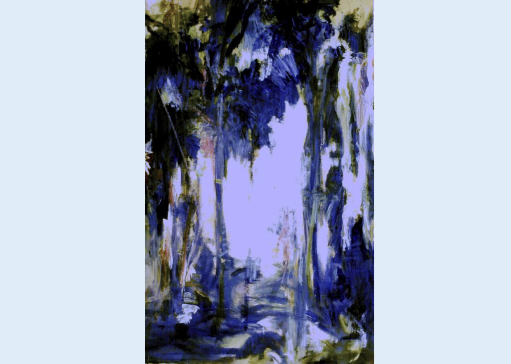 Blue Bamboos